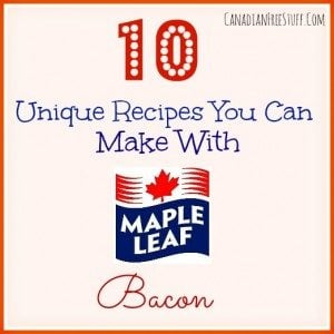 10 Unique Recipes You Can Make With Maple Leafe Bacon