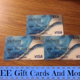 *** HURRY *** FREE Gift Cards & More From Nielsen Homescan!