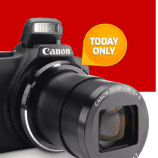 The Source Deal Of The Day – PowerShot Camera  only $109.99