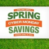 Home Depot Spring Cyber Monday Event(Today Only)
