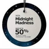 Ikea Canada Midnight Madness Sale December 12 (Reminder)