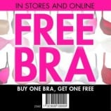 La Senza Canada Coupon – Buy One Bra Get One Free(Today Only)