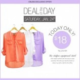 Suzy Shier Canada Deal Of The Day(January 24th)