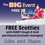 Lawtons Drugs FREE Scotties Facial Tissue and Seniors 55+ Appreciation Day