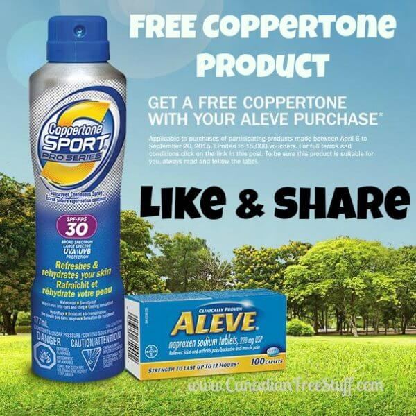 FREE Coppertone Product With Purchase