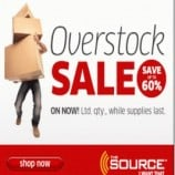 The Source Canada Overstock Sale