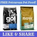 Petcurean Coupon – FREE Bag Of Pet Food