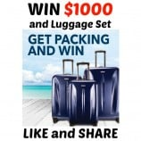 Best Buy Canada Contest – Win 1 of 2 Gift Cards of $1000 and Luggage (2 Contests)