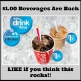 McDonald's Canada – Dollar Drink Days Start May 7th, 2015(Reminder)