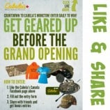 Cabela's Contest -Atlantic – Win  Shopping Spree or Daily Prizes