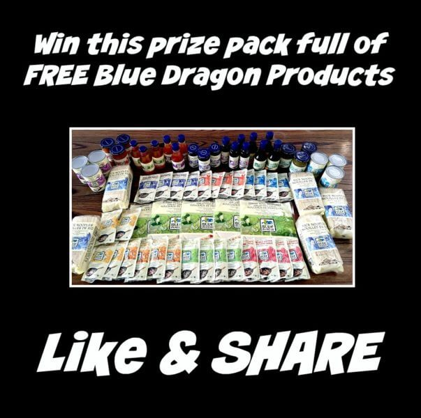 Blue Dragon Contest For Canada – Win FREE Product Prize Pack!!