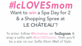 Le Chateau Contests – Win Spa Day for two