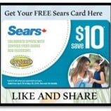 Sears Canada Free Gift Card With Purchase