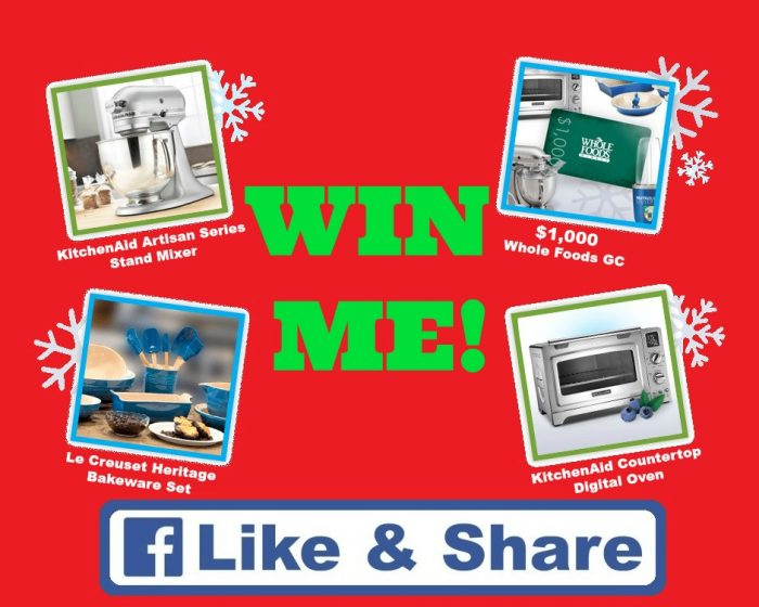 Win 1 000 Whole Foods Gift Card Kitchenaid Products And More