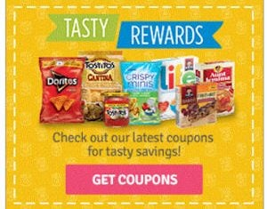 Pepsico Canada Coupons from Tasty Rewards