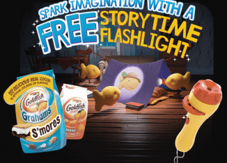 FREE Story Telling Flashlight With Purchase (While Supplies Last)